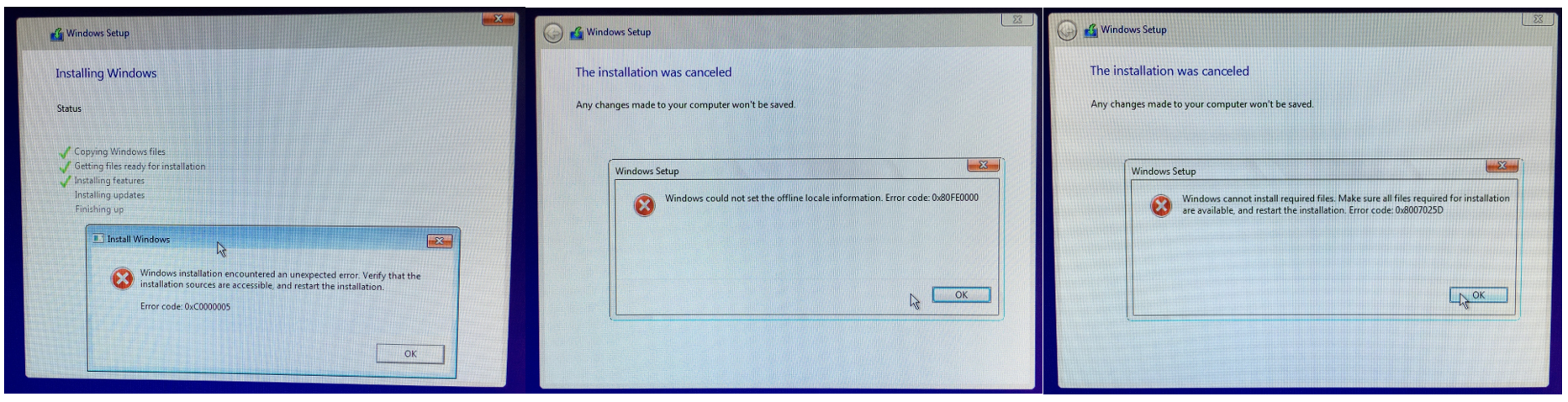how to clean install windows 10 with another computer