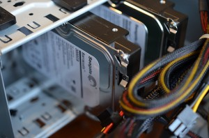 Hard Disc Drives installed