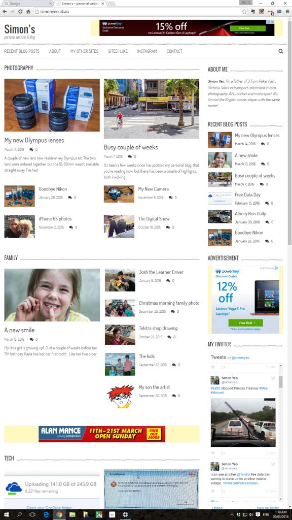 simonyeo.id.au screenshot AccessPress Mag