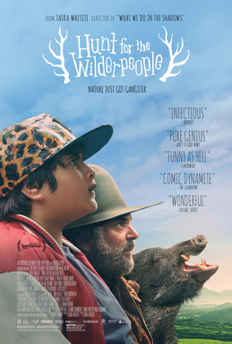 Movie Poster - Hunt for the Wilderpeople