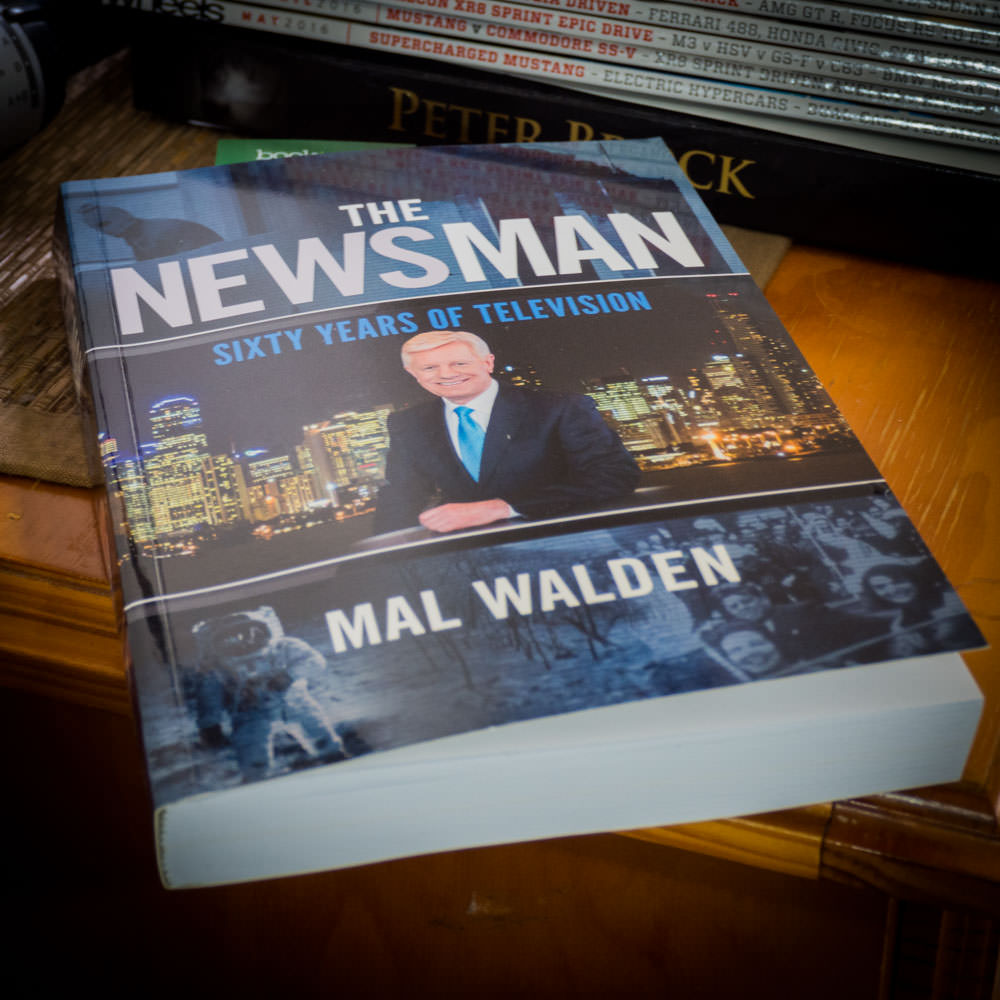 %22Newsman%22 by Mal Walden
