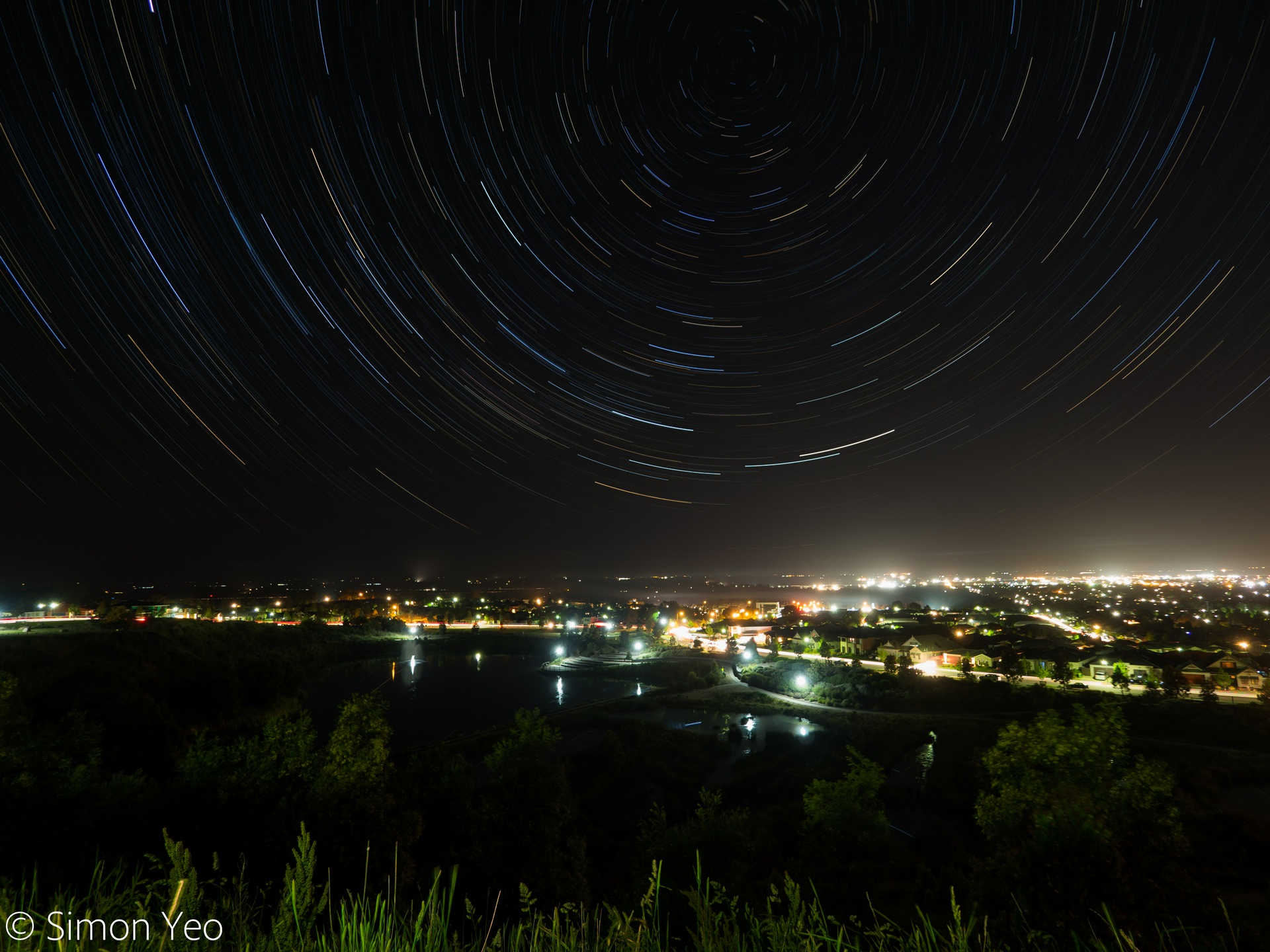 Star Trails over Pakenham