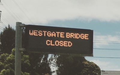 Westgate Bridge Closed, traffic stuffed!