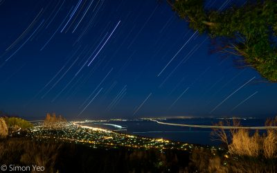 Star Trails from Arthurs Seat
