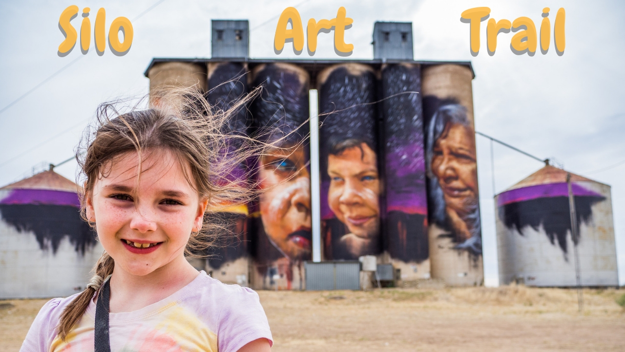 Karla on the Silo Art Trail